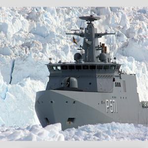 CAF Artic ship